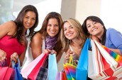 Shopping Fun and Door Prizes