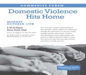 Domestic Violence: A Community Forum