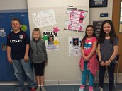 Our Mock Election Participants from Mrs. Buffy's room