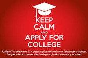 Application day for up coming college students