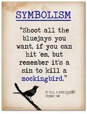"What does the title ""To Kill a Mockingbird"" represent?"