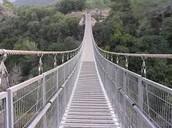 """""""נחל קטיע"""" - הגשר התלוי"""
