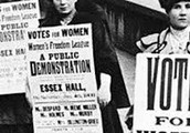 Women Campaigning for Voting Rights