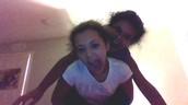Me and my sister Sadie