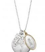 Tree of Life & Mom charm shown together!