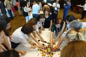 Playing Lego to understand alignment in team working