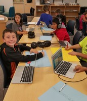3rd Graders Researching