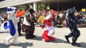 Fursuit parade
