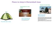 Places to sleep in Shenandoah, Iowa