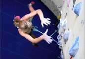 Learn to lead climb with instructor Ben Snowman