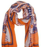 UNION SQUARE SCARF - FRESH TANGERINE $20 (65% off)