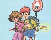 כללים לחציית הכביש נכונה