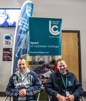 Mark and Dave at Open Day