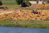 How is Egypt effected by the Nile River?