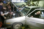 With the help and support of CHS students, we can have a car mechanic class!