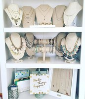 Who wouldn't want an accessories closet like this for FREE?!