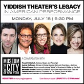 Yiddish theater's legacy in American performance