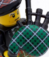 Bagpipes history.