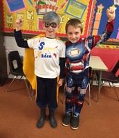 Eblen Super Hero day