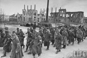 German prisoners in Stalingrad