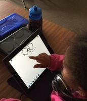 drawing what the weather is like on Nearpod