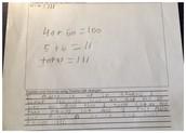 Student B- Written Response