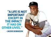 How Jackie Robinson got in his sport