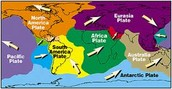 What are the 7 major plate boundaries? Q11