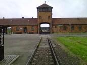 Railway Entrance To Birkenau