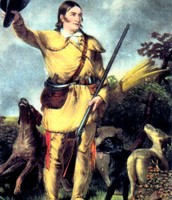 Davy Crockett fighting