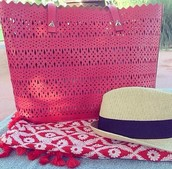 Geranium Perforated Bag