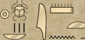King Tuts name in hieroglyphics part 1