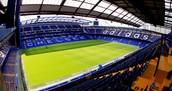 Het stadion van Chelsea