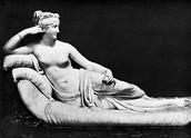 Una escultura idealitzada