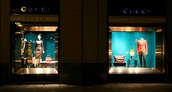 Gucci's visual merchandising