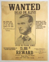 American Revolutionary Wanted Poster