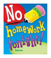 No Homework Pass!