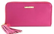 Mercer Zip Wallet - Peony (Womens' Cancer fundraiser piece)