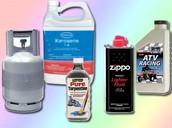 Any type of toxic liquids