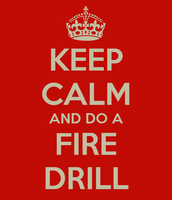 4th Period Fire Drill