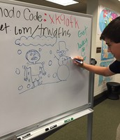 "Alex illustrates ""Shiver"""