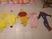 ASSORTMENT OF KID'S COSTUMES