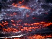 Black & Red Clouds