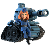 tank a mighty unit strong and deals great damage.