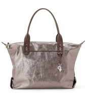 How Does She Do It Bag - Metallic