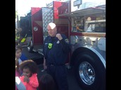 K Students Learning About The Fire Truck!!!