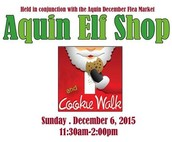 Aquin Elf Shop Open this Weekend!