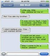 Big Bad Wolf and Little Pig
