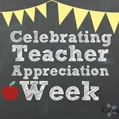 Teacher Appreciation Week Is This Week