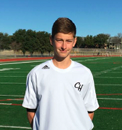 Foster Clarke – JV1 Sophomore, midfielder